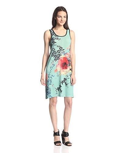 Sienna Rose Women's Printed Tank Dress