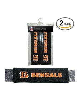 Nfl Denver Broncos Seat Belt Pad (Pack Of 2) front-264425