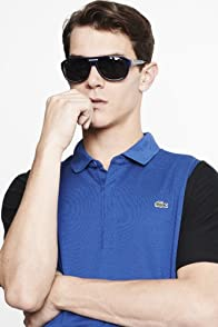 Short Sleeve Mini Pique Color Block Sleeves Polo Shirt