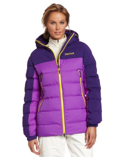 Marmot Damen Daunenjacke Mountain, vibrant purple/deep purple, 6(XL), 77590-6660-6