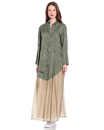 Eccentrica Camicia Donna Kimono St.Acquerellato