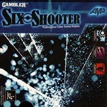 Gambler Six Shooter AMP Classic Cream Sponge Table Tennis Rubber