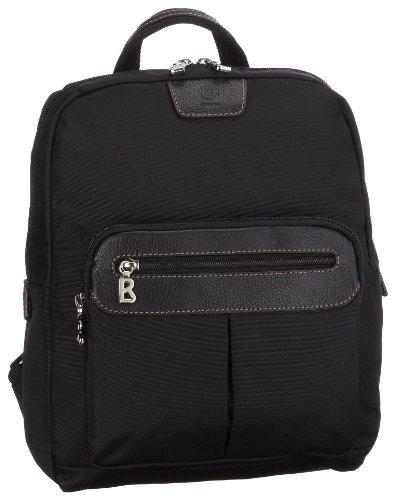 Bogner Elba Backpack 2 0493502008, Women's Shoulder Bag, Black, (Black/Black 008), 26x8x33