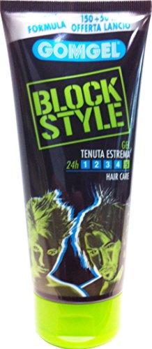 GOMGEL Gel Capelli Block Style Tenuta Estrema 150+50 Ml