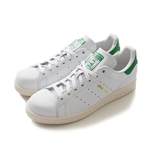 adidas originals アディダスオリジナルス STAN SMITH スタンスミス 白緑 正規取扱品 (23.5,White/Green(S75074))