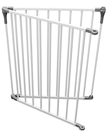 Dreambaby L1950 Royale Converta Gate 2 Panel Extension, White