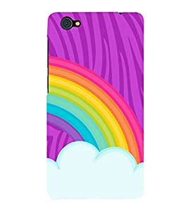 Rainbow Sky Art 3D Hard Polycarbonate Designer Back Case Cover for VIVO X5 PRO :: VIVO X5PRO