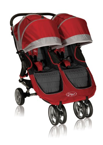 Baby Jogger 2012 City Mini Double Stroller, Crimson/Gray