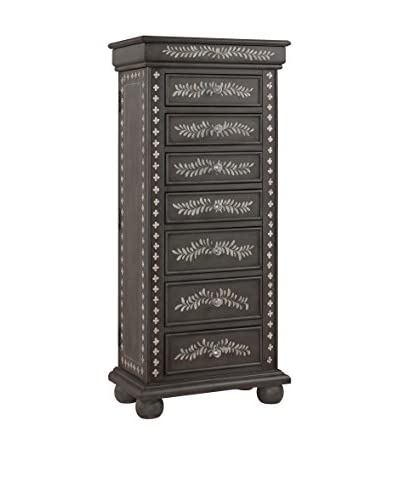 Coast To Coast Jewelry Armoire, Brown