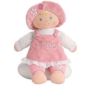 My First Dolly Blonde Hair by Baby Gund Soft Toy Plush 31cm
