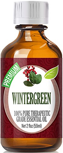 Wintergreen (60ml) 100% Pure, Best Therapeutic Grade Essential Oil - 60ml / 2 (oz) Ounces