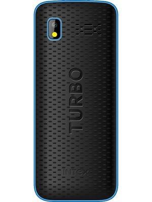 INTEX TURBO STAR MOBILE PHONE BLACK+BLUE