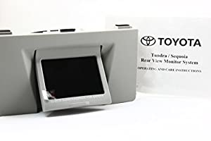 New 07 08 09 Toyota Oem Genuine Sequoia Tundra Rear View Back up Monitor Only Graphite Color