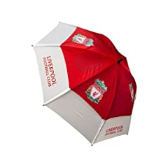 Golf Umbrella - Liverpool F.C by Footie Gifts