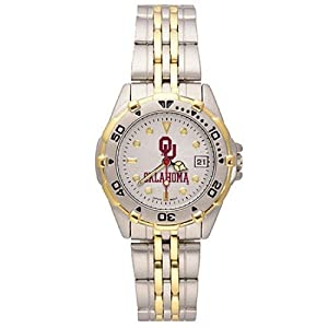 NSNSW22008Q-Ladies All Star University of Oklahoma Watch Stainless by NCAA Officially Licensed