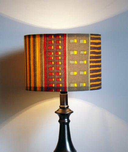Custom Marimekko Wakisaka UTA Fabric Lamp Shade
