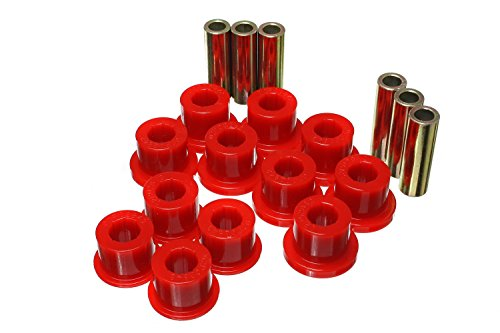 Energy Suspension 8.2116R Leaf Spring Bushing Set (Toyota Tacoma Rear Leaf Spring compare prices)