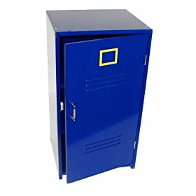 Beck Children's Blue Wooden Gym Locker