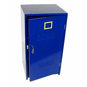 Beck Children's Blue Wooden Gym Locker