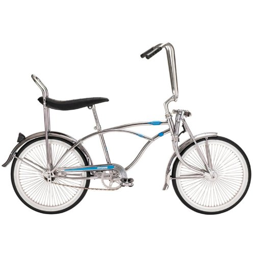 Price 20-inch Old School Low Rider Bike in Chrome Finish