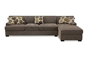 Poundex Montereal 2-Piece Chaise Sectional