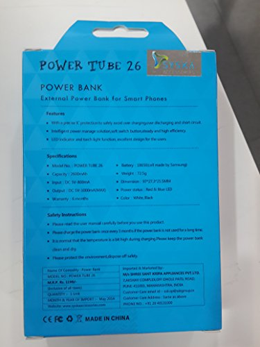 Syska-Power-Tube-26-2600mAh-Power-Bank