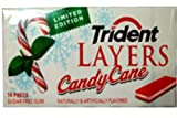 Trident Layers Gum, Candy Cane (3 Pack)