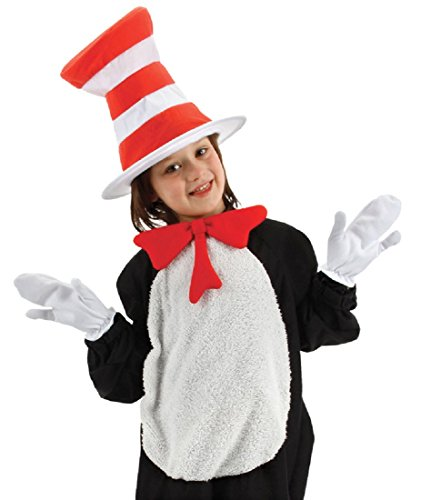 Unisex Cat In The Hat Accessory Kit