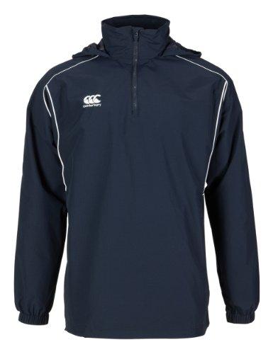 Canterbury Classic 1/4 Zip Rain Jacket, Navy, XX-Large