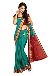 Kaushika Crepe Mysore Traditional Silk Saree KC2105_RAMA_MAROON