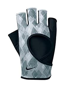 Nike Women's Cardio Fitness Gloves, Black/Gray, Large