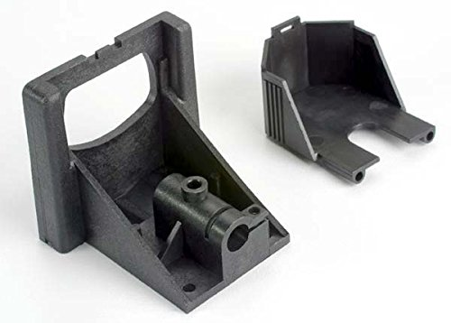 Traxxas 1521X Villain EX Motor Mounting Bracket and Gear Cover - 1
