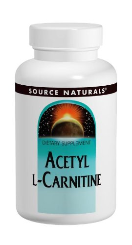 Source Naturals Acetyl L-Carnitine 250Mg, 60 Tablets