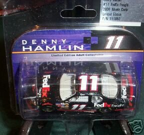 denny-hamlin-11-2006-fedex-freight-rookie-year-with-no-yellow-rookie-stripes-action-1-64-monte-carlo