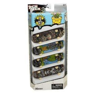 Fingerboards Tech Deck 96mm 4 Pack (Los estilos pueden variar)