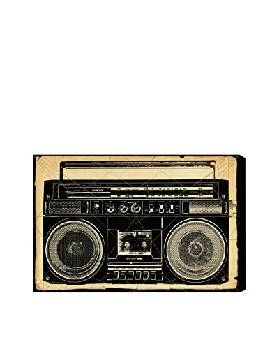 Oliver Gal Hatcher & Ethan 'Ghetto Blaster Print' Canvas Art