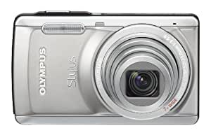 Olympus Stylus 7040 14 MP Digital Camera with 7x Wide Angle Dual Image Stabilized Zoom and 3.0 inch LCD (Titanium) (Old Model)