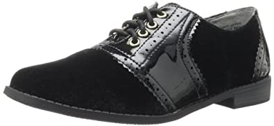BC Footwear Women's Throw Your Hands Up Oxford,Black,6 M US
