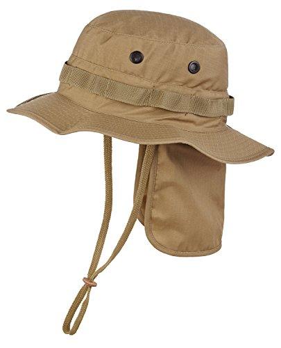 Cappello di Safari con protezione per il collo