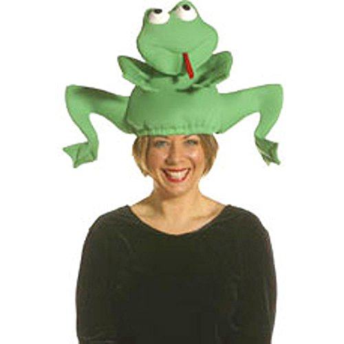 Adult Jumping Frog Costume Hat