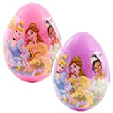 Large Disney Princess Easter Egg Filled with Candy Character Inside 1- .75 Oz