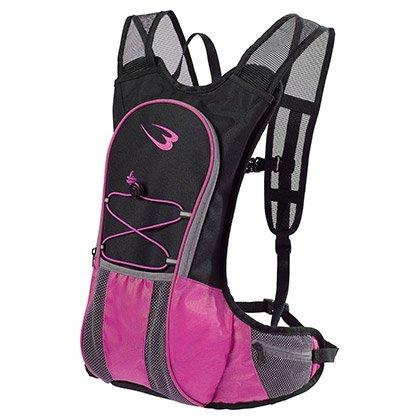 ランニングバッグ ウエストポーチ付き ピンク