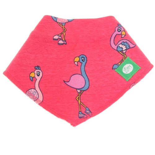 Zippy Dribble Bib Bandana Bib to Match Flamingoes Zippy Suit Baby Coverall - 1