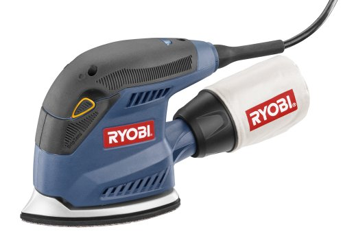 New Factory-Reconditioned Ryobi ZRCFS1503K 1.2 Amp Corner Cat Finish Sander