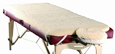 Sivan Health and Fitness Massage Table Fleece Pad Sheet and Facerest Cover Set