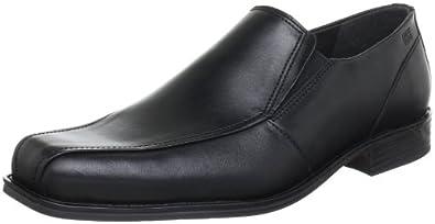 FRETZ MEN - Herren Slipper - Schwarz Schuhe in Übergrößen, Größe:49