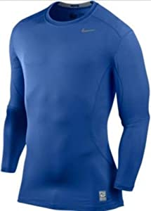 Buy Nike 449788 Core Fitted LS Top 1.2 - Royal by Nike