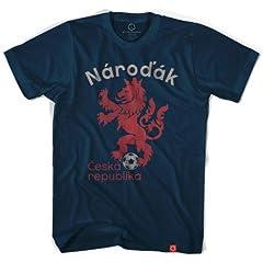 Czech Republic Narodak Lion Soccer T-shirt