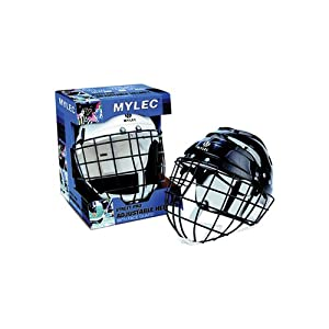 Buy Mylec Helmet With Wire Face Cage (Color: Black) Sold Per EACH by Mylec