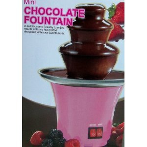 Mini Pink Chocolate Fountain